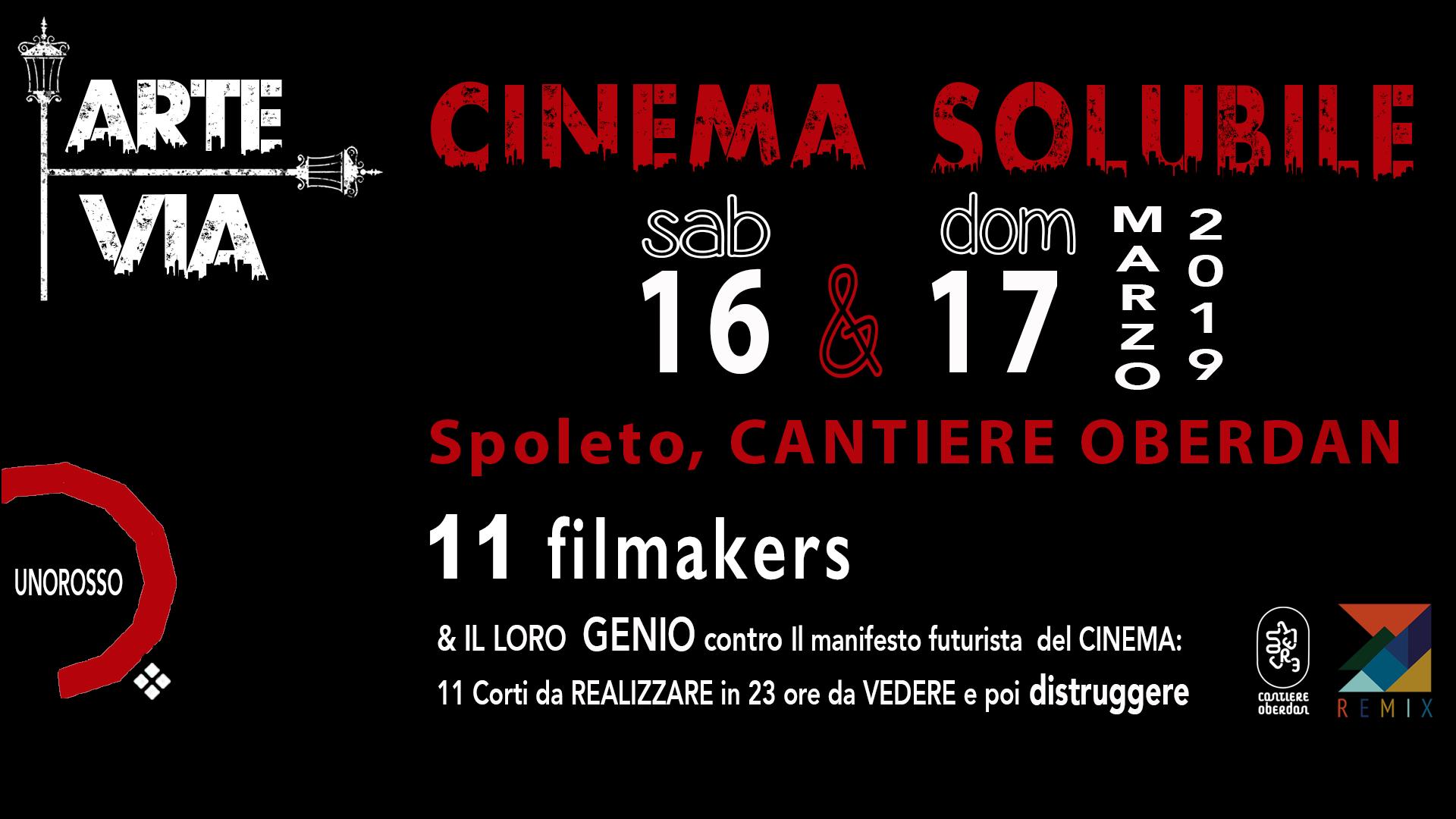 CINEMA SOLUBILE